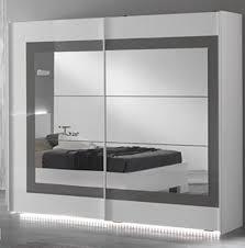 cdiscount armoire de chambre armoire portess laque blancgrisl x h blanche laquee alinea blanc