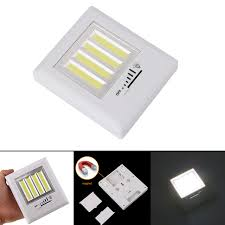 magnetic battery operated led lights magnetic ultra bright 4 x cob led wall light night lights c l