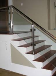 Glass Handrails For Stairs Glass Handrail Systems Atlantic Shower Door