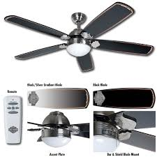 52 ceiling fan with remote ceiling fan with remote control modern awesome harley davidson