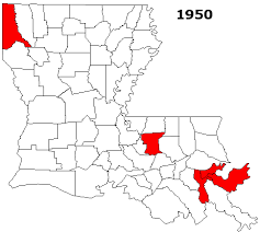 louisiana map areas list of louisiana metropolitan areas