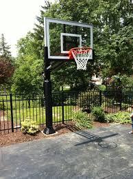 Backyard Basketball Hoops 22 Best Basketball Court Images On Pinterest Outdoor Ideas