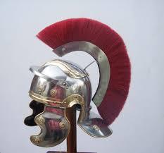 buy h15 roman helmet with red crest from khukriwala handicrafts