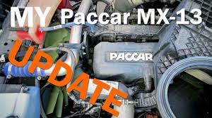 paccar company paccar mx 13 engine update youtube