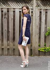 shoes to go with navy blue and white dress style guru fashion