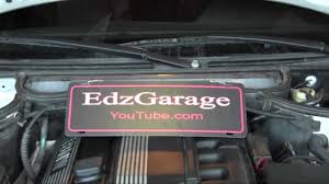 water pump and thermostat replacement e46 bmw 325i youtube