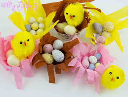 make mini easter baskets little nests kids craft room