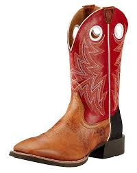 ariat s boots size 12 ariat s heritage cowhorse 12 square toe boots brown