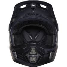flat black motocross helmet fox racing 2016 v2 union helmet matte black available at motocross