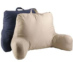 read in bed pillow cotton twill bedrest pillows only 8 99 down from 22 99