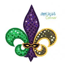 mardi gras items applique corner mardi gras designs