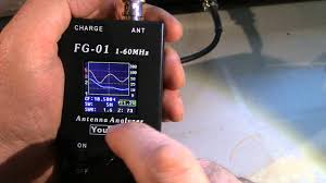 earchi s9 antenna on an analyzer youtube
