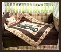 Camo Crib Bedding New John Deere Baby Crib Bedding Set In Brown By Kustomkidsbedding