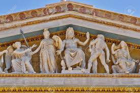 Greek Gods Statues Zeus Athena And Other Ancient Greek Gods And Deities National