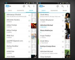 chat apps for android talk to a single android app to chat with friends on