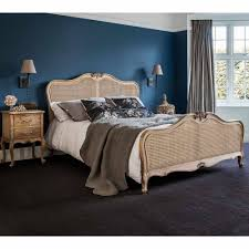 provencal linen single bed luxury bed