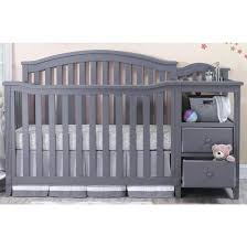 Convertible Cribs With Attached Changing Table Crib With Attached Changing Table Nursery Decors Koala As Well As