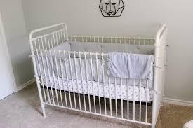Crib On Bed by Landon U0027s Nursery Reveal The Mrs U0026 Co