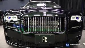 chrysler rolls royce 2017 rolls royce ghost series ii exterior and interior