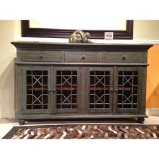 shop chests credenzas and sideboards rc willey furniture store vintage turquoise gray blue 4 door console