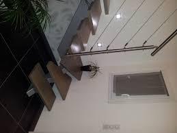 escalier peint en gris bricolage de l u0027idée à la réalisation un escalier design et