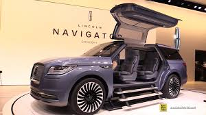 Lincoln Navigator 2015 Interior Lincoln Navigator Concept Exterior And Interior Walkaround