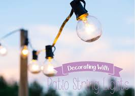 Decorating With String Lights Outdoor Deck String Lights For Fun Summer Nights Craving Some