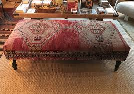 more new vintage rug ottomans hammertown