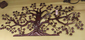 Wall Decor Metal Tree Large Metal Tree Wall Decoration Roselawnlutheran