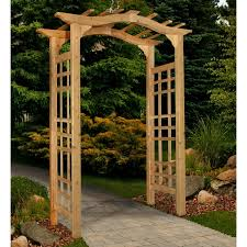 new england arbors westwood arch arbor hayneedle