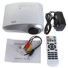 home theater projector systems gigxon h600 multimedia 1200 lumens portable lcd led office and