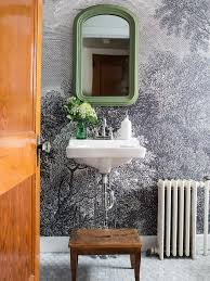 Tile On A Roll Kitchen Wallpaper How To Install Wallpaper In A Bathroom Hgtv