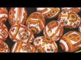 painted wooden easter eggs wooden easter eggs pysanky painted by brush писанки мальованки