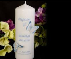 baptismal candles baptism candles naming and christening gift ideas