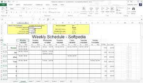 Employee Schedule Excel Template Employee Scheduler For Excel And Openoffice