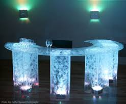 Acrylic Bar Table Rent Lighted Acrylic Cocktail Tables Bars Lounge Furniture Led