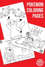pokemon coloring pages free download pokemon coloring kid
