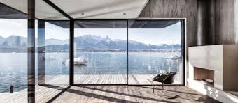 beautiful house situated between the banks of lake thun that
