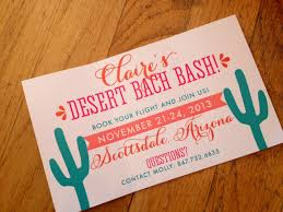 best bachelorette party invitations scottsdale or bust for a desert bachelorette bash by nico and