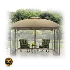 patio gazebo 10 x 12 10 u0027 x 12 u0027 patio gazebo outdoor garden pool canopy shed mosquito