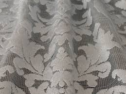 Drapery Fabrics Geraldine Lace Drapery Fabric U2014 Albert U0027s Window Fashions