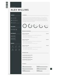 Css Resume Modern Cv Personal Resume Template By Blendthemes Themeforest