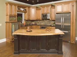 amazing hickory kitchen cabinets for gallery also island images