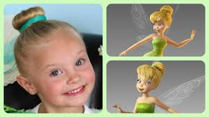 tinkerbell hairstyle tinker bell hairstyle tutorial a cutegirlshairstyles disney