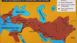 Map Of Ancient Greece And The Aegean World by Early Greek And Indian Connections Of Philosophy Auckland