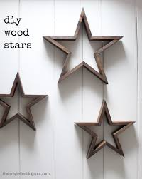 Diy Wooden Star Rogues Star And Free
