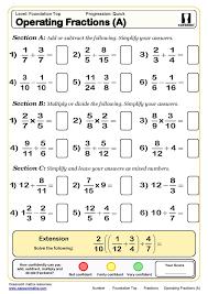 printable math worksheets fractions fantastic free printable math worksheets a and an fractions 5th