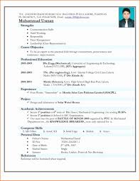 resume format for freshers mechanical engineers documentary evidence resume career objective for freshers software engineers fresher in