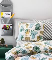 Amazon Com Furniture Set Covers - amazon com jungle animals kids bedding 2pc twin duvet quilt cover