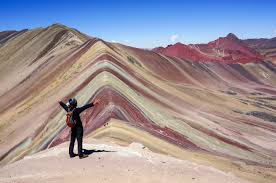 ausangate trek hike to the colorful mountain in peru